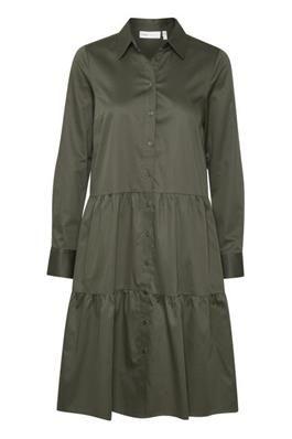 Vex Dress, InWear, Beetle Green