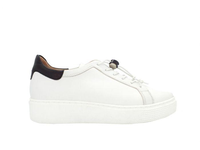 MJUS sneakers M0810, Hvid/sort