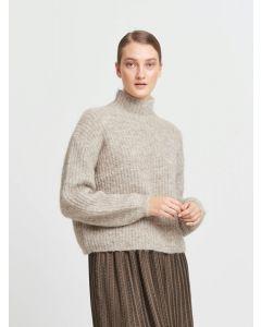 Syringa Rika knit, Bruuns Bazaar, Roasted Grey melange