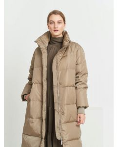 Down Lucky coat, Bruuns Bazaar, Roasted Grey