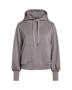 Lucerne Hoodie sweatshirt, Bruuns Bazaar, Cloud Grey