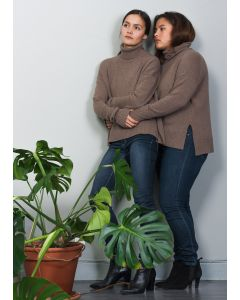 Organic Wool Sweater, Hazel