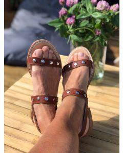 Italiensk sandal fra Alberville, Cognac