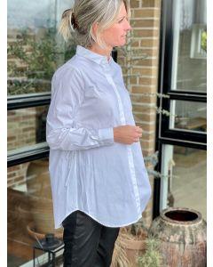 Rosie Libertine shirt, Bruuns Bazaar, White