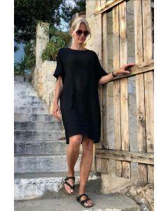 HALAH GIGI DRESS, Bruuns Bazaar, Black