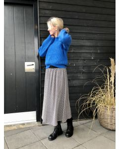 Bruuns Bazaar, Coco Mirrah Skirt, Black Print