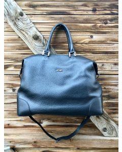 Italiensk håndtaske, black 18002