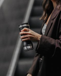 Mat Black Tumbler, GLACIAL, 350ml