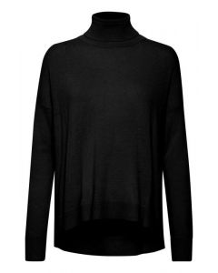 ZRITH ROLLNECK PULLOVER, INWEAR, Black