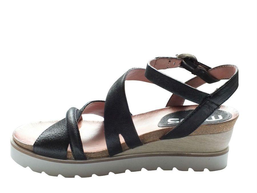 MJUS sandal med lille kilehæl 221029