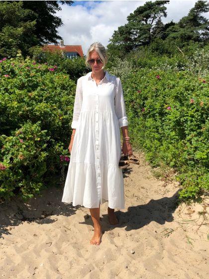 Kathis Gana dress - Snow White, Bruuns Bazaar