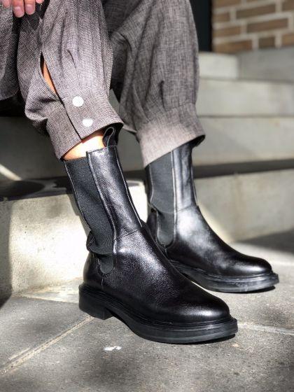 MJUS støvle, M58214, Black