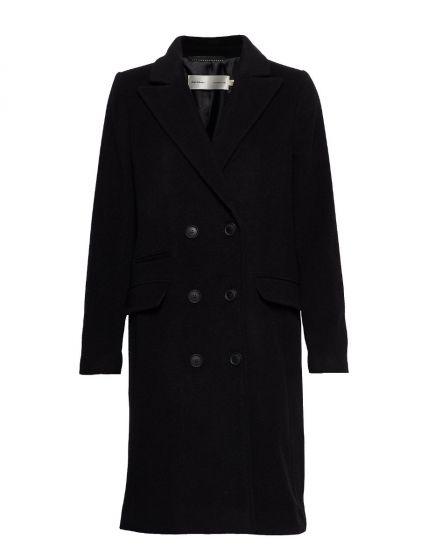 ZELIE CLASSIC COAT, INWEAR, Black