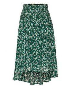 INWEAR HAYDEN SKIRT, WARM GREEN DITS
