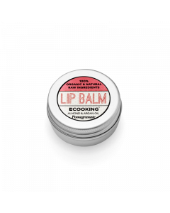 Ecooking Lip Balm Granatæble, 15 ml