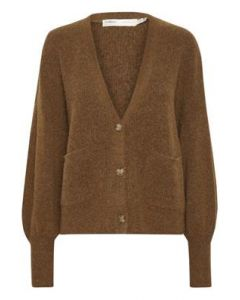 INO CARDIGAN, InWear, Leather Brown