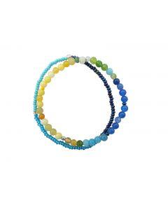 Unika armbånd Yellow/blue