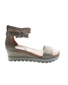 MJUS sandal med lille kilehæl 221035 sand