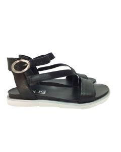 MJUS flad sandal 255072, Sort