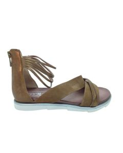 MJUS flad sandal 740020, Sand/bronzo