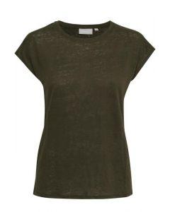 Celeste T-shirt Dark olive