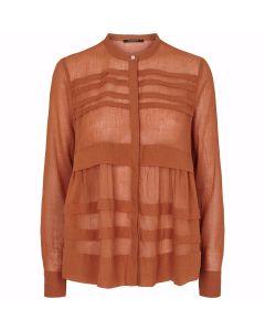 Kathis Napoli shirt - Cinnamon, Bruuns Bazaar