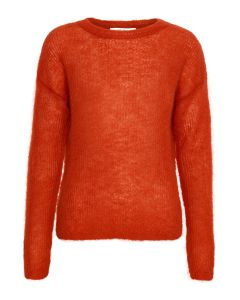 Gestuz Strik - Molly Pullover, Red