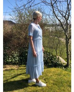 MARIE SILJE DRESS, Bruuns Bazaar, Blue Mist