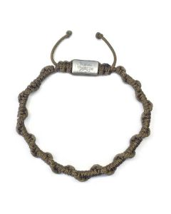 COFFEE MANTRA BRACELET, Matt Steel